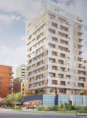 The Brick bostadskvarter – Telefonplan