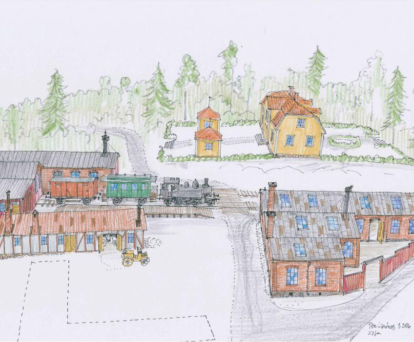 Satsning på Torekällbergets friluftsmuseum
