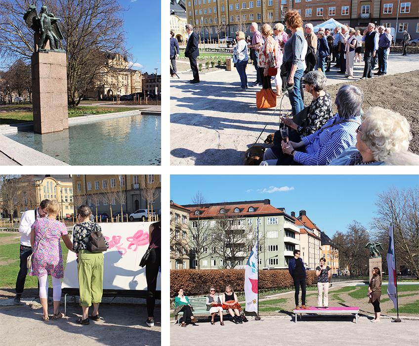 Invigning av Raoul Wallenbergs plats