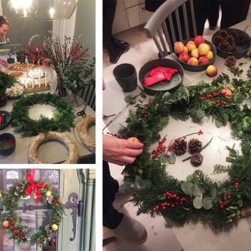 Julstämning i trädgårdsmästarbostaden