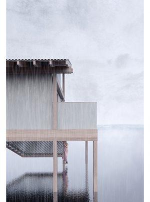 Strandängen kallbadhus -Jönköping