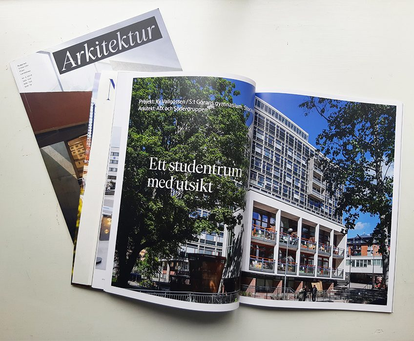 Läs om Vallgossen i Arkitektur!