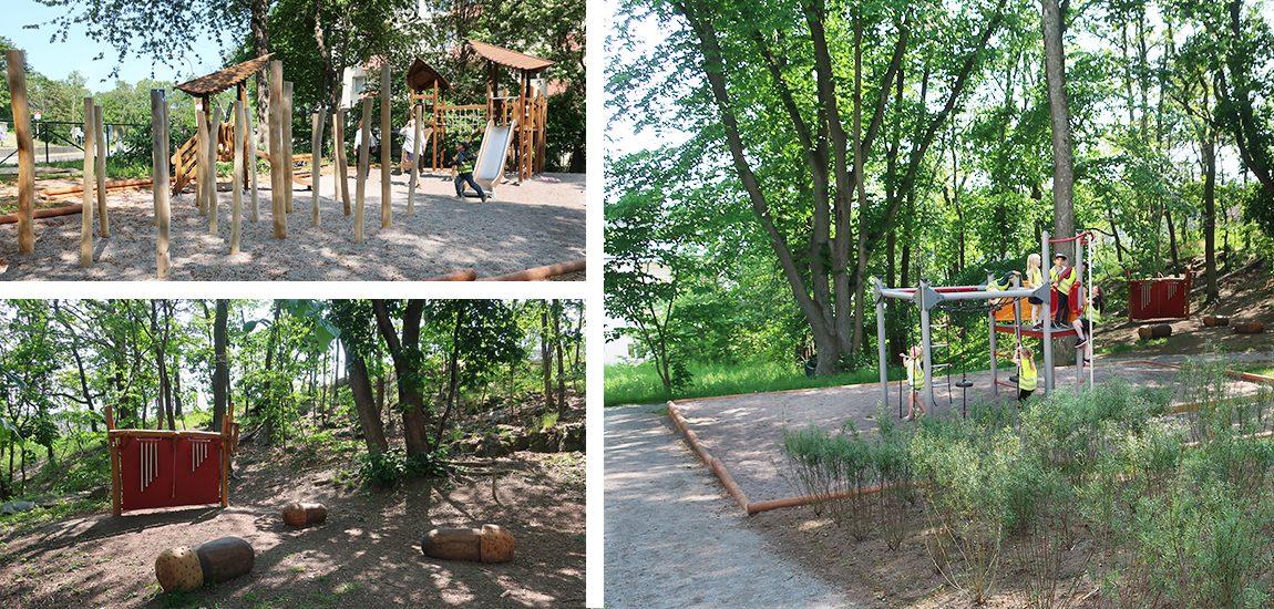 Temalekplats Ekuddsparken, Nacka