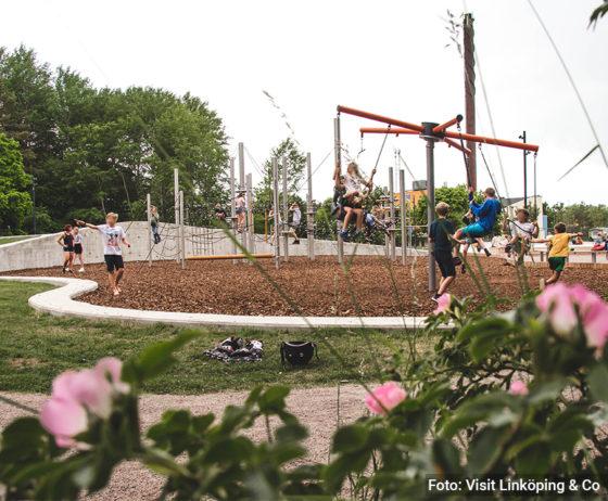 Wi önskar er en aktiv sommar i Linköpings nya aktivitetspark!