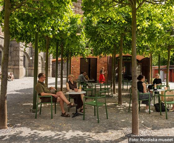 Nu är Nordiska museets nya bakgård invigd!