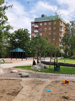 Lekplats Finntorpsparken – Nacka