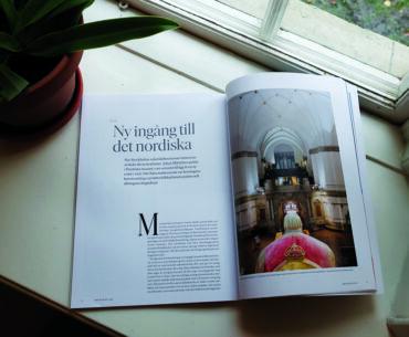 Läs om Nordiska museets nya bakgård i Arkitektur!